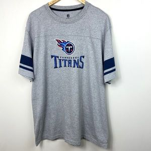 NFL Tennessee Titans Short Sleeve T-Shirt Grey XXL